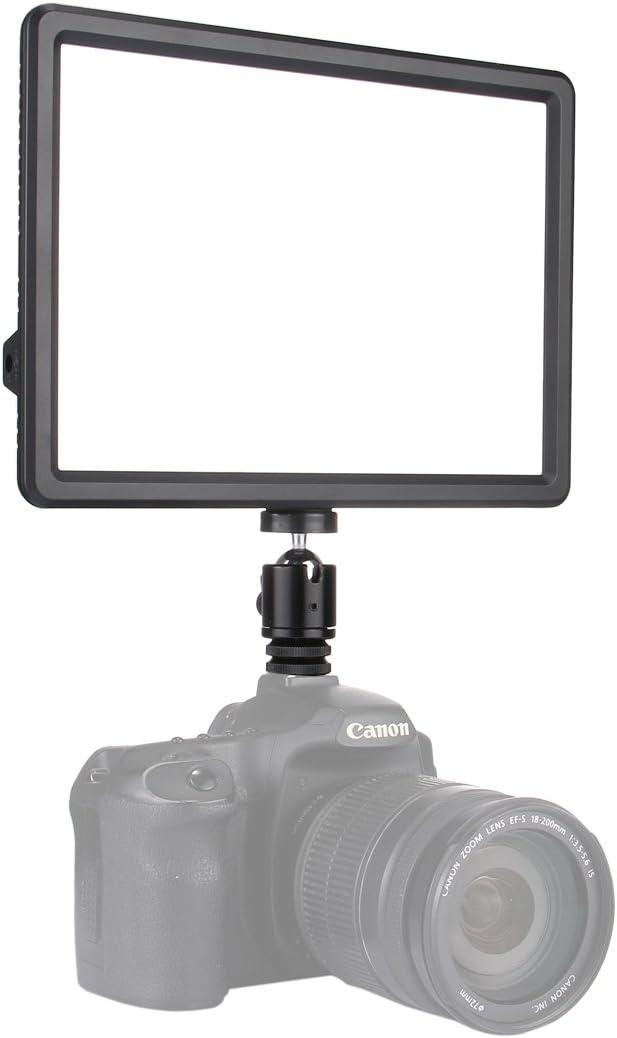 DSLR Cameras Nikon JINUS 152 SMD 2835 LEDs 230-840LM 3000-4500K Dimmable Studio Light Video /& Photo Light for Canon