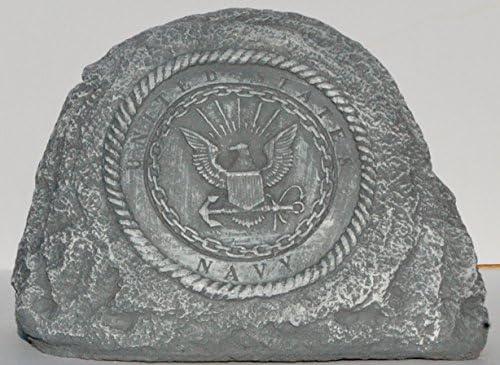 Navy Service Stone Memorial Handmade