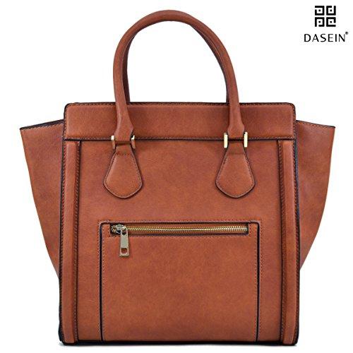 Dasein Women's Handbags Satchel Bags Vegan Leather Handbags Tote Micro (Square Purse)