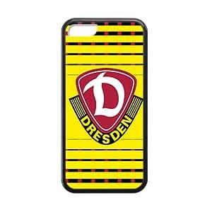Custom Team Dynamo Dresden Logo Hard Plastic Case Cover for iPhone 5C