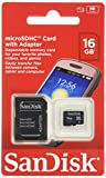 SanDisk 16GB Mobile MicroSDHC Class 4 Flash Memory Card...