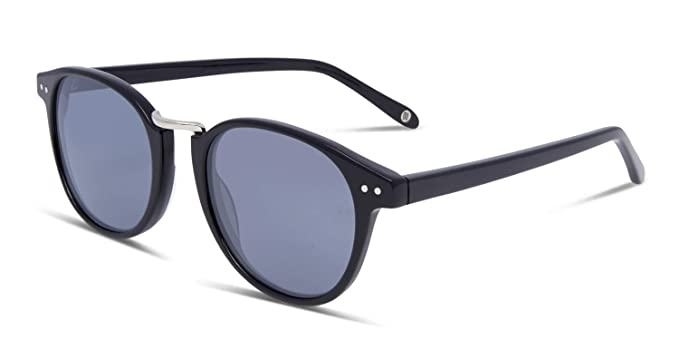0ebe8ad46913 Amazon.com  Hilary Duff Muse Margaret Black Round Online Sunglasses ...