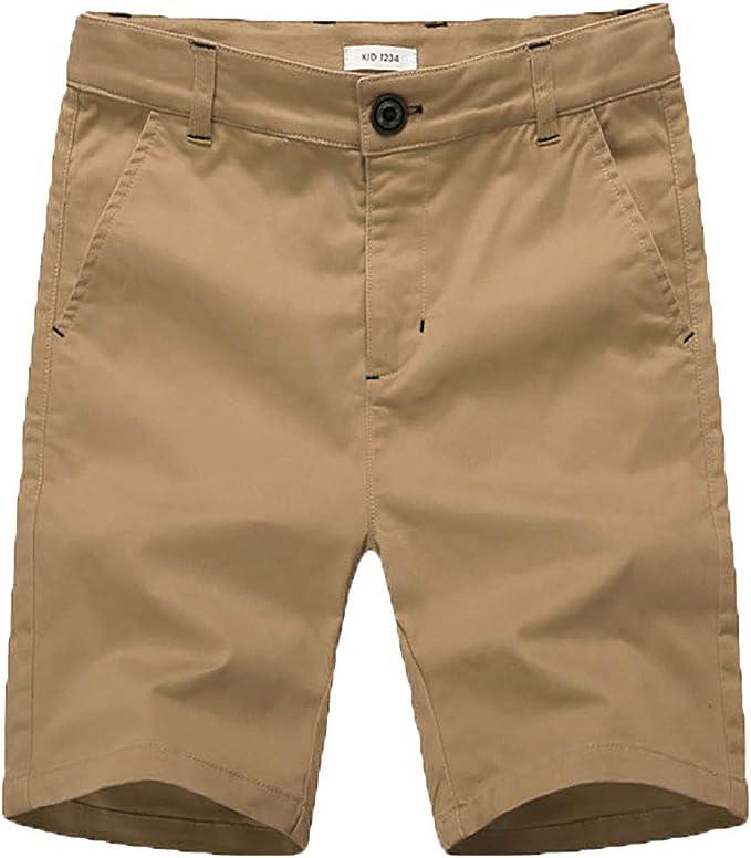 BASADINA Pantalones Cortos - Niño Pantalones Cortos de Verano con ...