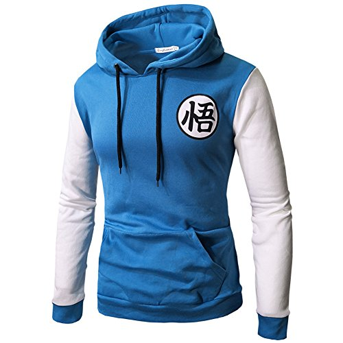 Ball ANNU Classic Pullover Dragonball Sudadera Sweaters Dragon PIZZ Goku Azul Sudadera OPWnS8P1q