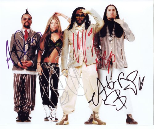 Black Eyed Peas Group Signed Autographed 8 X 10 Reprint Photo - Mint (Black Eyed Peas Photograph)