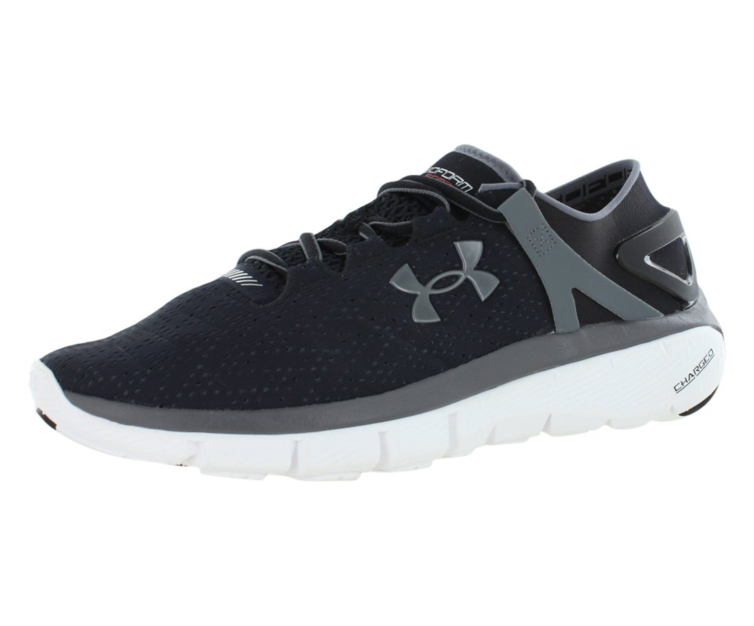 Under Armour UA Speedform Apollo Twist - Zapatillas de Running de Material sintético Hombre 46 EU|Negro/Blanco