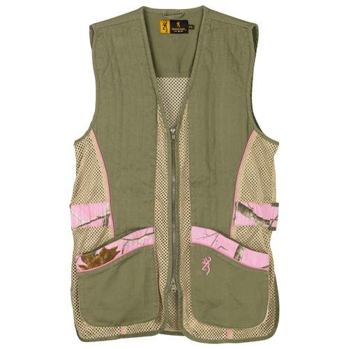 Browning Lady Sporter II Vest, Realtree AP Pink, Large by Browning