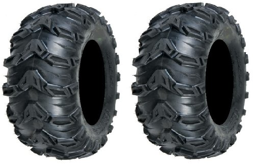 Pair of Sedona Mud Rebel 25x11-10 (6ply) ATV Tires (2)
