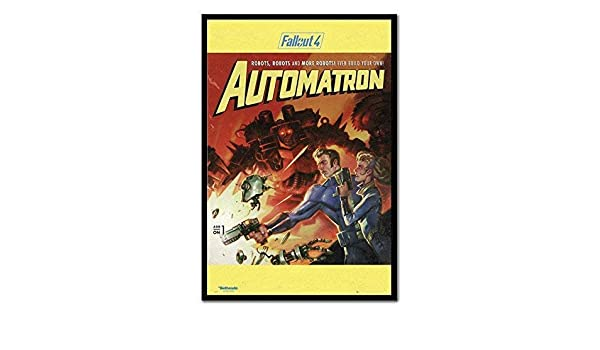 Framed Fallout 4 Automatron Poster New