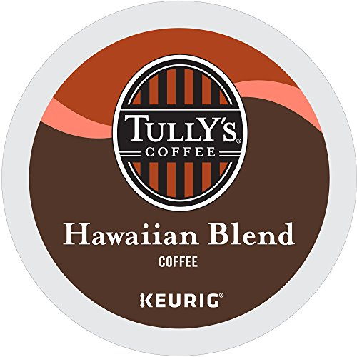 Tully's Coffee Hawaiian Blend, Medium Roast, Extra Bold, 24 Count