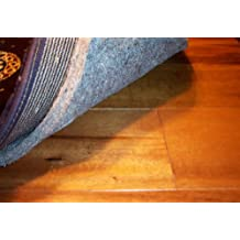 """5'x8' 40 OUNCE AREA RUG carpet PAD. MULTIPLE SIZES and shapes to choose from. OVER 1/2"""" THICK Authentic MOHAWK Industries Specifiers choice P40A. 100% recycled FELT JUTE. Home area rug pads, runner, rectangle, square, oval and round. Underlay, padding."""