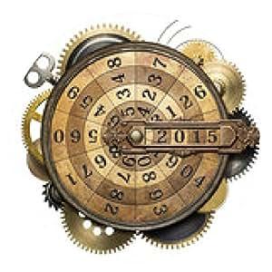 alfombrilla de ratón contar el tiempo - ronda - 20cm