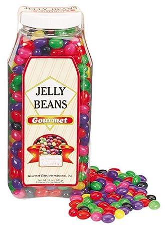 Amazoncom Gourmet Jelly Beans 32 Oz Jar Grocery Gourmet Food