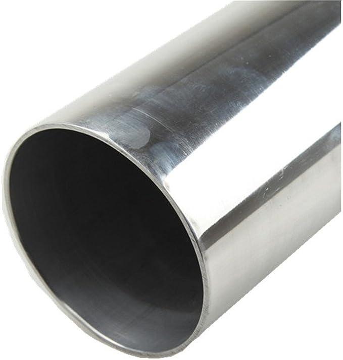 1Pcs Universal Aluminum Turbo Intercooler Pipe 180 Degree U 2.5 O.D Polished