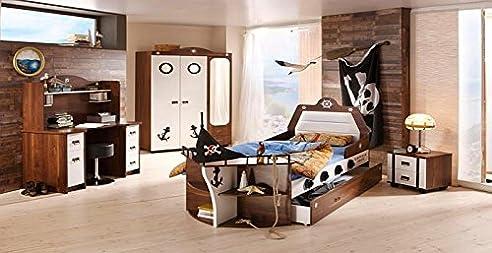 Kinderzimmer pirat  Fluch der Karibik Kinderzimmer Komplett Pirat Piraten Zimmer ...