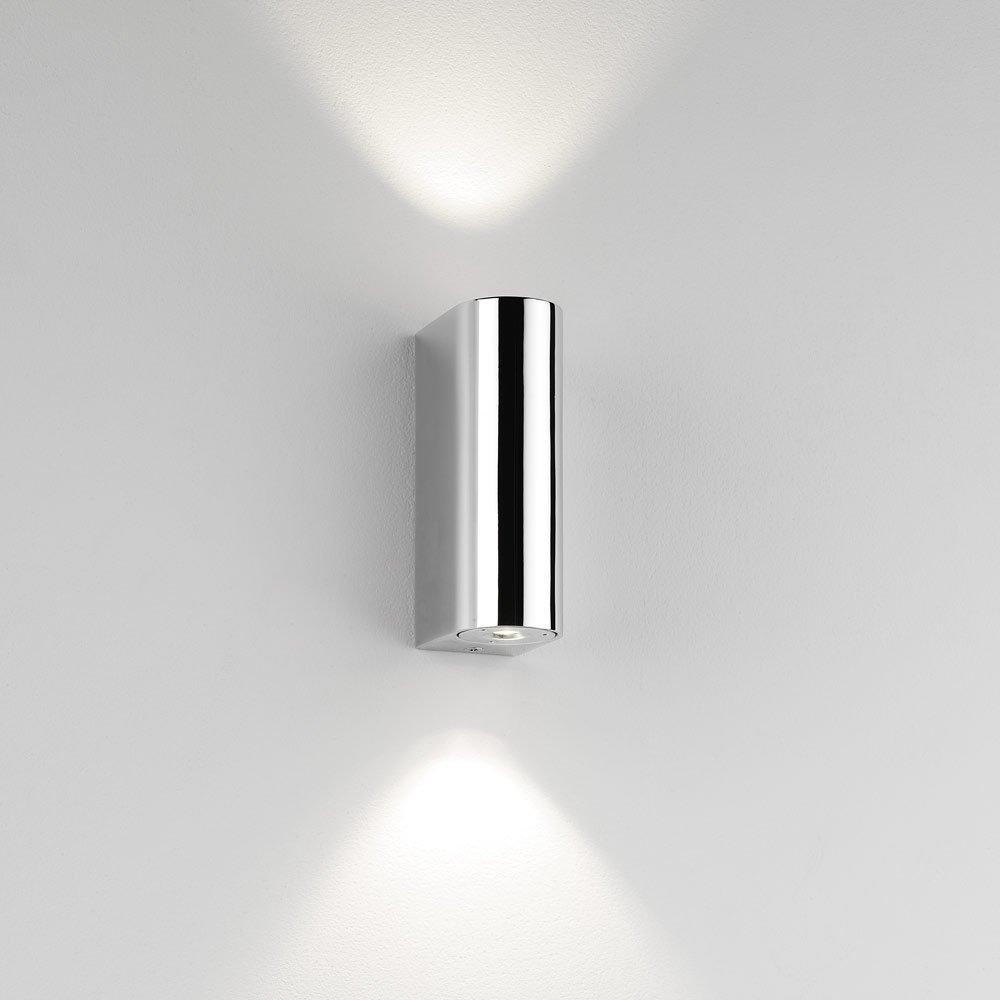 inkl Astro 0828 Alba Wandleuchte Chrom 2 x 1W LED