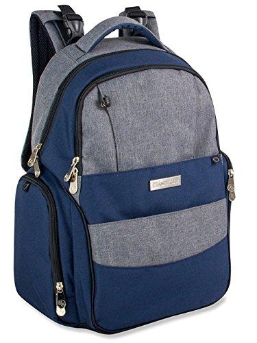 Fisher-Price Fastfinder Diaper Bag Backpack (Blue)