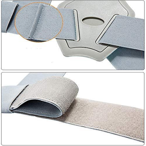 BLWX - Back Support Belt -Men and Women Invisible Correction Clothing Hunchback Correction Belt Treatment Anti-Humpback Correction Spine Correction Belt Humpback Correction Belt (Size : S) by BLWX-Humpback correction belt (Image #2)