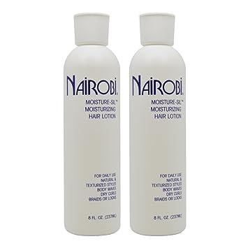 Amazon Com Nairobi Moisture Sil Moisturizing Hair Lotion 8oz Pack Of 2 Beauty