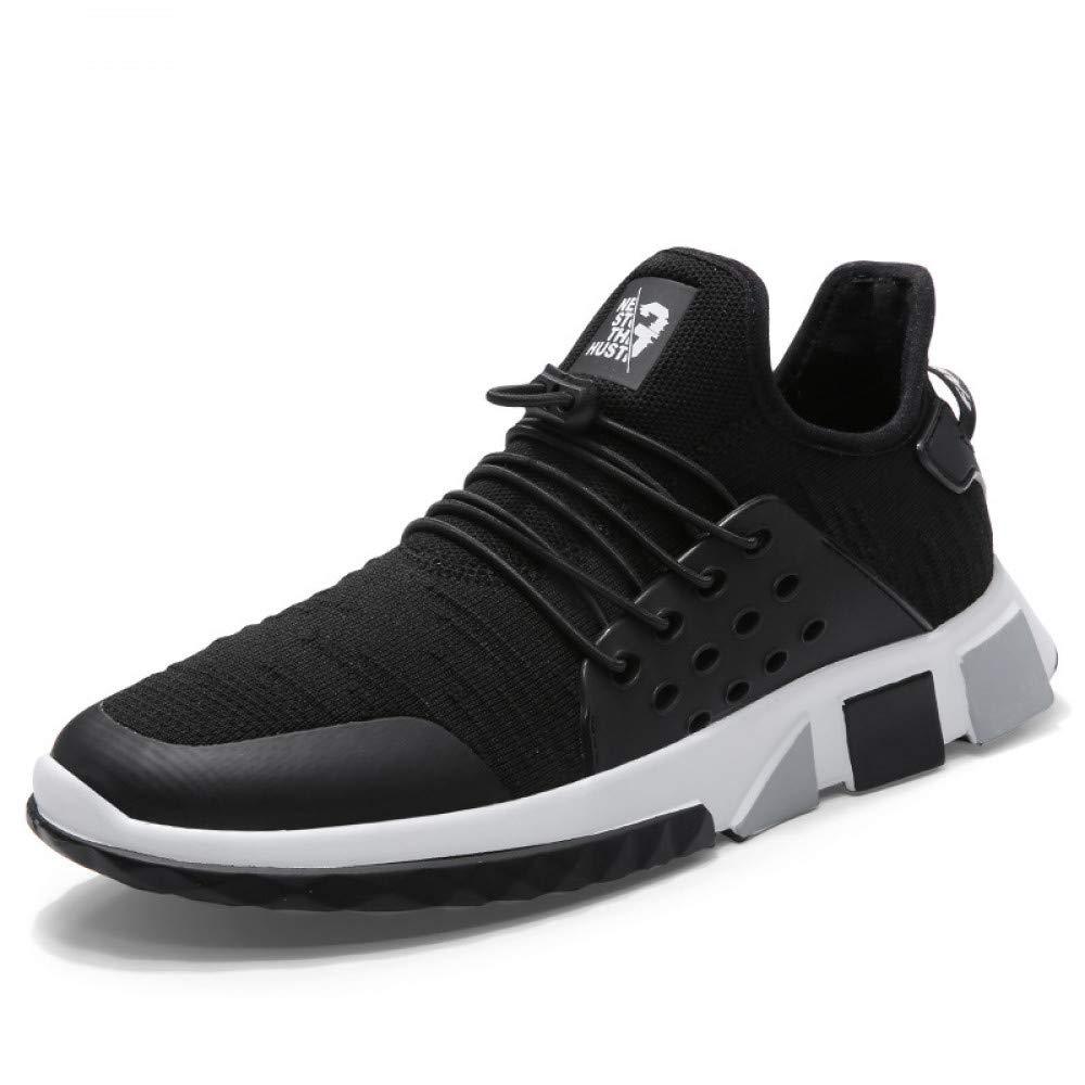 Hasag Hasag Hasag Calzado Deportivo Transpirable Zapatos nuevos Hombres Zapatos Corrientes Casual al Aire Libre, A Negro, 42 aee1ba