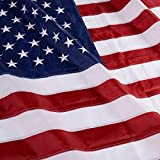 4'x6′ Ft USA Us U.s. American Flag Sewn Stripes Embroidered Stars Brass Grommets Review