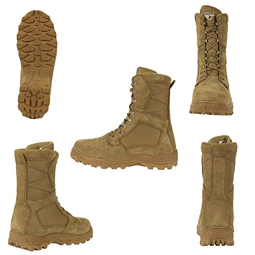Condor Jackson Combat Boot - Coyote Brown