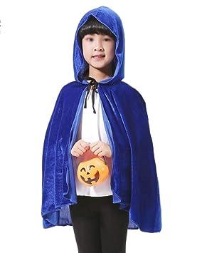 Largo Capa con Capucha Disfraz De Halloween para Adultos ...