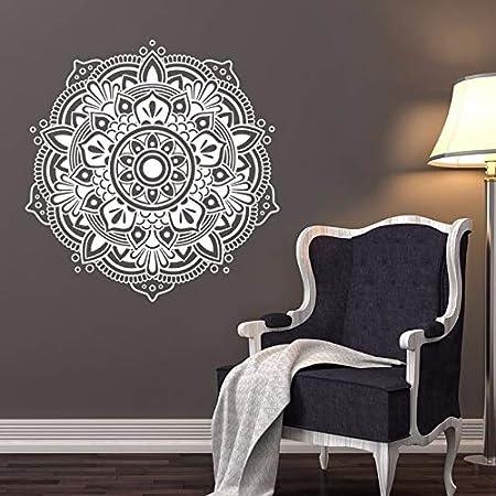zxddzl Decoración del hogar Mandala Tatuajes de Pared de ...