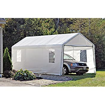 Amazon.com : ShelterLogic Portable Garage Canopy Carport ...