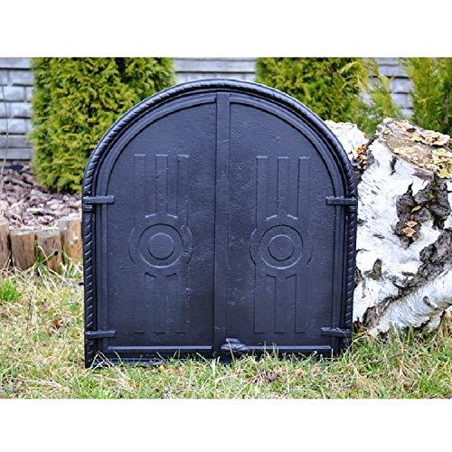 PUR Schamotte - Puerta de Horno (Hierro Fundido, 56,5 x 61 cm ...