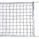 Milky House Volleyball Net Volleyball Replacement Net for Outdoor or Indoor Sports Backyard Schoolyard Pool Beach (32 FT x 3 FT) Portable Outdoor Volleyball Net,Poles Not Included