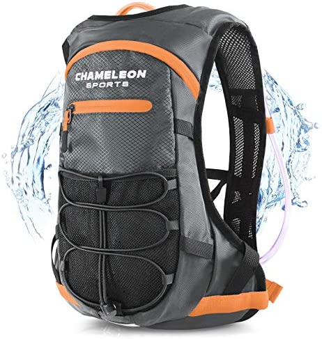 Chameleon Hydration Backpack – Waterproof Breathable Camel Water Bag Pack for Trail Running Biking Cycling and Hiking