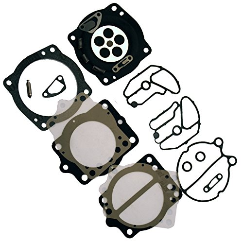 Premium Venom Brand Keihin Carb Carburetor Kit Fits MANY Kawasaki 650, 750, 900 & 1100 / Polaris 700, 900, 1050 & 1200 Watercraft NEVER Made in China, SEE DESCRIPTION for exact Fit Keihin Carburetor Kits