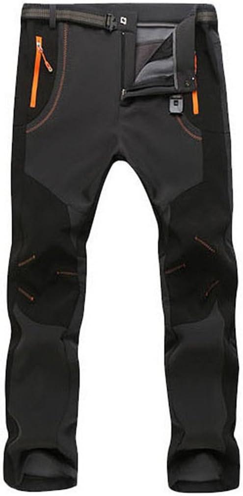 /Pantal/ón Monta/ña Ocio Pantalones de Trekking c/álido Resistente al Viento Micosuza Softshell/ /Pantal/ón para Hombre Resistente al Agua/