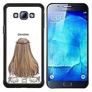 Dragon Case - FOR Samsung Galaxy A8 A8000 - I'm not even upset - Caja protectora de pl??stico duro de la cubierta Dise?¡Ào Slim Fit