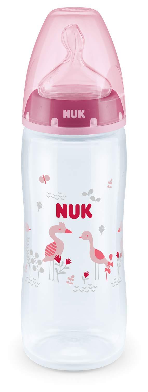 NUK First Choice Plus PP-Babyflasche 360ml mit Silikon-Trinksauger mehrfarbig Gr/ö/ße 2XL Farbe nicht frei w/ählbar 6-18 Monate