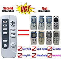 Replacement for Frigidaire Air Conditioner Remote Control Part Number 5304459995 YN1G2 for FAH08ES1TA11 FAH08ES1TA12 FAH08ES1TA13 FAH10ES2TA11 FAH10ES2TA12 FAH10ES2TA13 FAH14ER2T1 FAH14ER2T2 FAH14ES2T