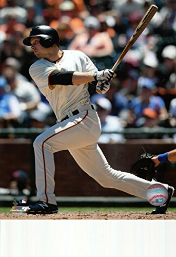 - Austin Slater San Francisco Giants unsigned 8x10 photo (Home Jersey)