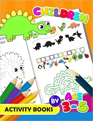 Buy Children Activity Book By Age 3 5 Activity Book For Boy Girls