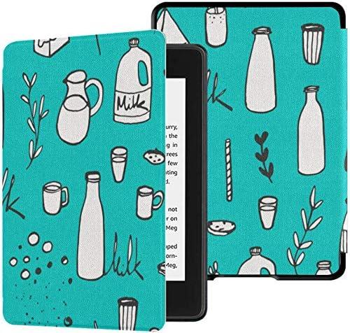 Estuche para Kindle Paperwhite 10th Generation 2018 Retro Cute Leopard Spot Funda de Botella de Vaca Kindle Paperwhite 2018 Estuche con Auto Wake/Sleep: Amazon.es: Electrónica