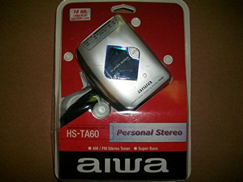 (Aiwa HS-TA60 AM/FM Cassette Player Personal Stereo with Headphones and Super)