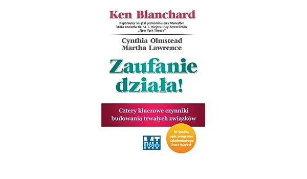 Zaufanie Dziala Amazones Ken Blanchard Libros En