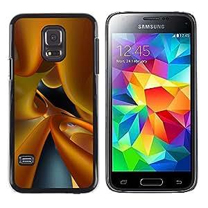 Caucho caso de Shell duro de la cubierta de accesorios de protección BY RAYDREAMMM - Samsung Galaxy S5 Mini, SM-G800, NOT S5 REGULAR! - Dynamic Glass 3D Art