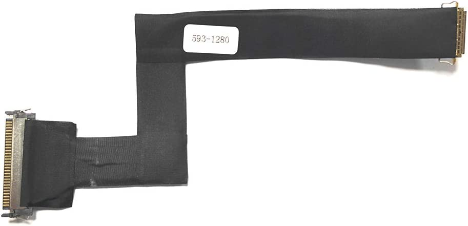 ICTION New Replacement for iMac 21.5 21 A1311 593-1280 593-1280-A LCD Display LVDS Cable 2010