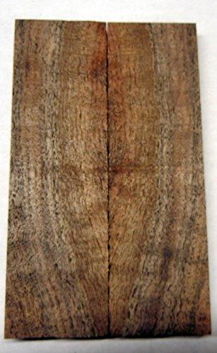 Walnut Claro Figured (2 pc) Knife Scales 3/8