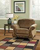 Ashley Furniture Montgomery Fabric Accent Chair in Mocha
