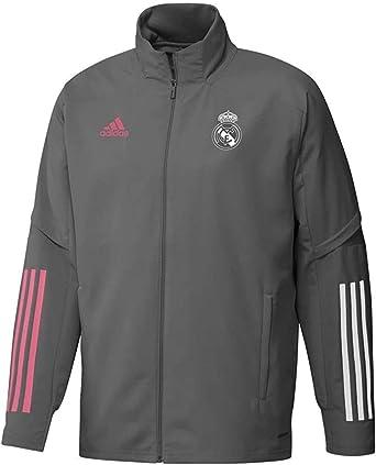 Unisex Adulto Real Madrid Temporada 2020//21 AW Jkt Chaqueta Cortavientos Oficial