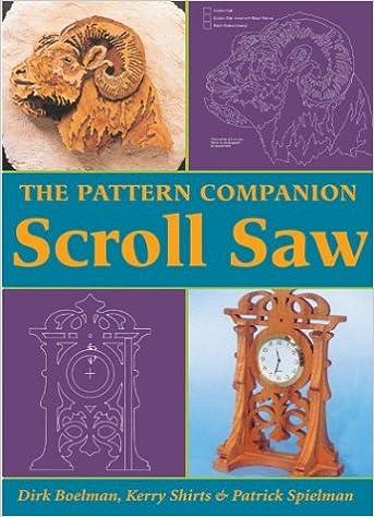 The Pattern Companion Scroll Saw Dirk Boelman Kerry Shirts Impressive Scroll Saw Pattern Books