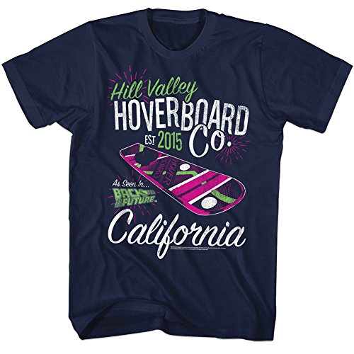 (Back to The Future 80s Syfy Comedy Hoverboard Spielberg Movie Adult T-Shirt)