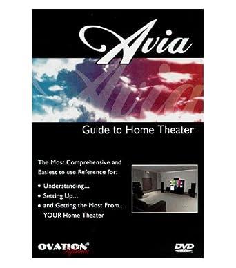 amazon com ovation avia guide to home theater dvd tv calibration rh uedata amazon com avia guide to home theater calibration dvd Avia Butler
